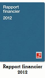 Rapport financier GROUPE 2012